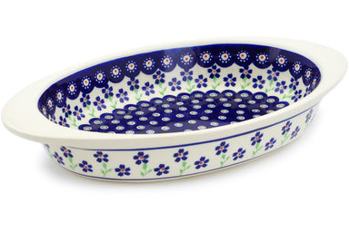 "13"" Oval Baker with Handles - 912 