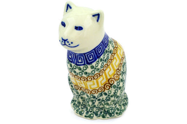 "5"" Cat Figurine - Autumn 