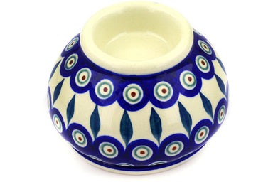 "3"" Candle Holder - Peacock 