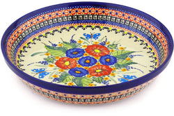"10"" Pie Plate - Butterfly Garden 