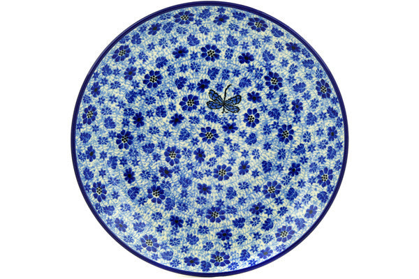 "11"" Dinner Plate - Dragonfly 
