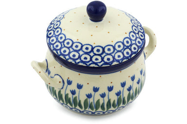 11 oz Soup Cup with Lid - 490AX | Polish Pottery House