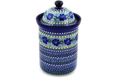 8 cup Canister - U595 | Polish Pottery House