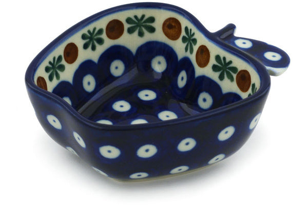 "2"" Apple Bowl - Blue Old Poland 