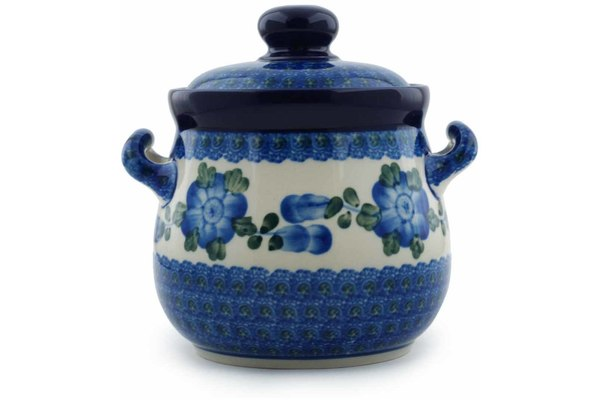 4 cup Canister - Heritage | Polish Pottery House
