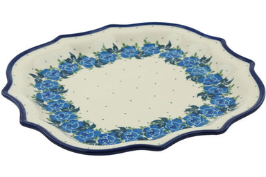 "11"" Platter - Bendikas Floral 