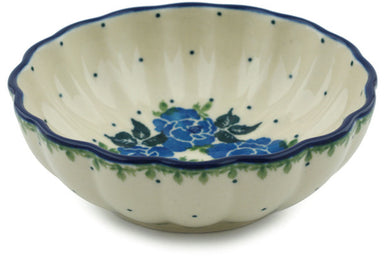 8 oz Dessert Bowl - Bendikas Floral | Polish Pottery House