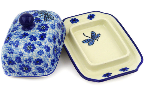 "6"" Butter Dish - Dragonfly 