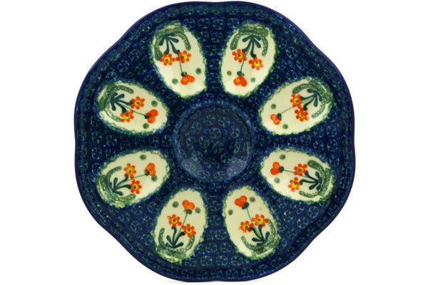 "9"" Egg Plate - 560X 