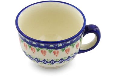 9 oz Cup - D24 | Polish Pottery House