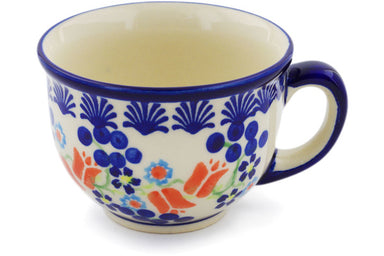 9 oz Cup - D41 | Polish Pottery House