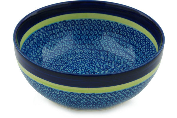 4 cup Serving Bowl - D96 | Polish Pottery House
