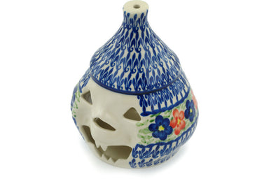 "7"" Jack O Lantern Candle Holder - D58 
