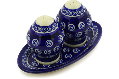 "4"" Salt and Pepper Shakers - Swirl 