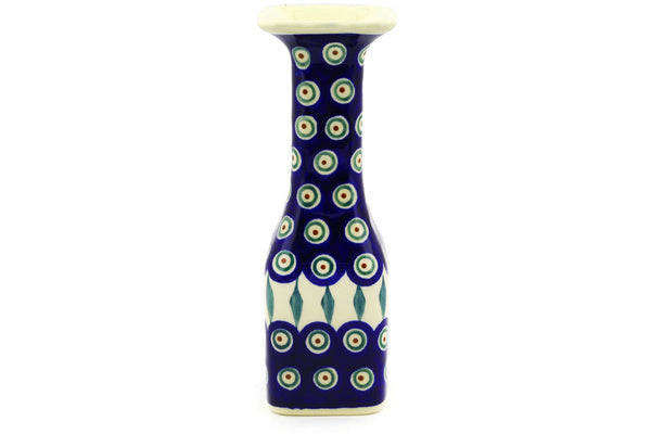 "9"" Candle Holder - Peacock 