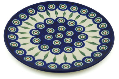 "8"" Dessert Plate - Blue Peacock 