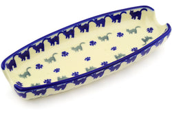 "9"" Corn Tray - Cats on Parade 