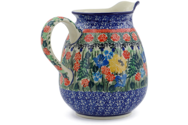 4 cup Pitcher - U4023 | Polish Pottery House