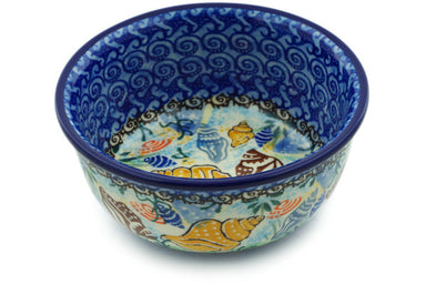 10 oz Dessert Bowl - Sea Shell | Polish Pottery House