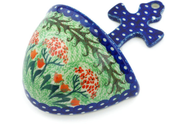 "6"" Wall Pocket - Blue Rooster 