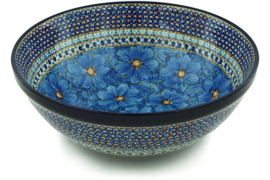 21 cup Serving Bowl - U408C | Polish Pottery House