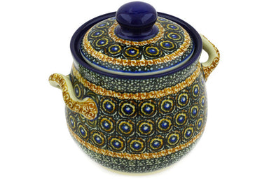 4 cup Canister - U143 | Polish Pottery House