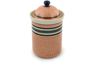 8 cup Canister - P4942A | Polish Pottery House
