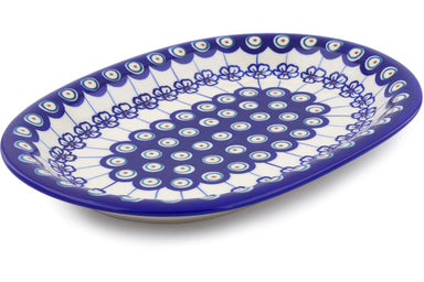 "11"" Oval Platter - D106 