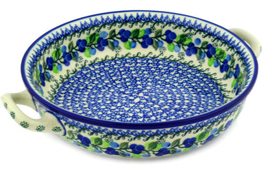 "10"" Round Baker with Handles - 1416X 