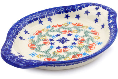 "9"" Platter with Handles - P9331A 