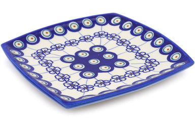 "7"" Square Salad Plate - D106 
