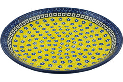"9"" Luncheon Plate - Blue Sunshine 
