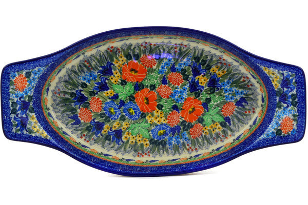 "18"" Oval Baker with Handles - U4055 