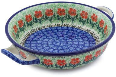 "7"" Round Baker with Handles - Cosmos 