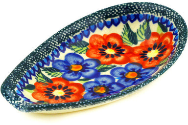 "5"" Spoon Rest - Cottage Garden 