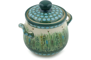 4 cup Canister - U803 | Polish Pottery House