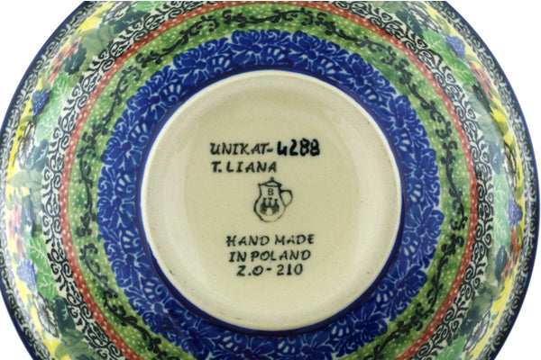 3 cup Cereal Bowl - U4288 | Polish Pottery House