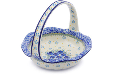 "10"" Basket with Handle - P9028A 