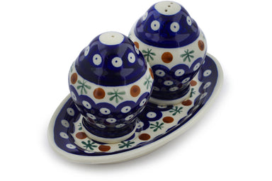 "4"" Salt and Pepper Shakers - Old Poland 