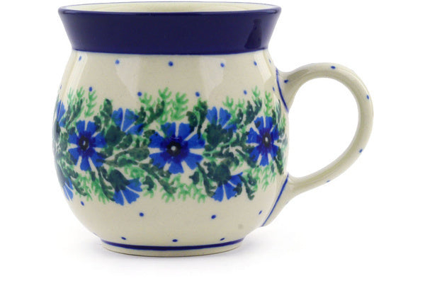 8 oz Bubble Mug - Cornflower | Polish Pottery House