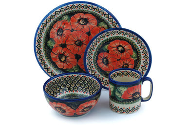 Place Setting - P4796A | Polish Pottery House