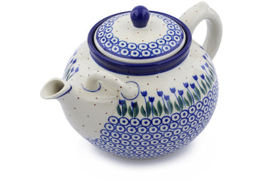 8 cup Tea Pot - 490AX | Polish Pottery House