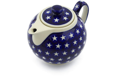 5 cup Tea Pot - 82 | Polish Pottery House