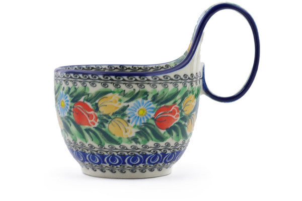 16 oz Soup Cup with Handle - U4475 | Polish Pottery House