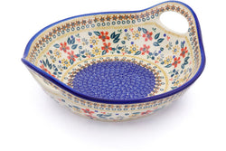 5 cup Serving Bowl with Handles - P9336A | Polish Pottery House