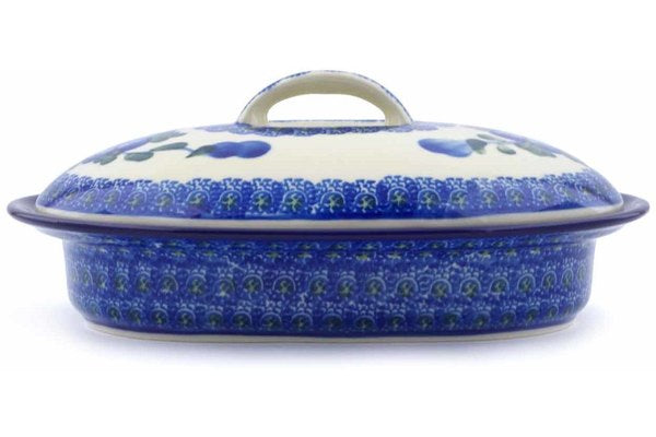 10 oz Covered Baker - Heritage | Polish Pottery House