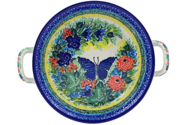 "7"" Round Baker with Handles - U4107 
