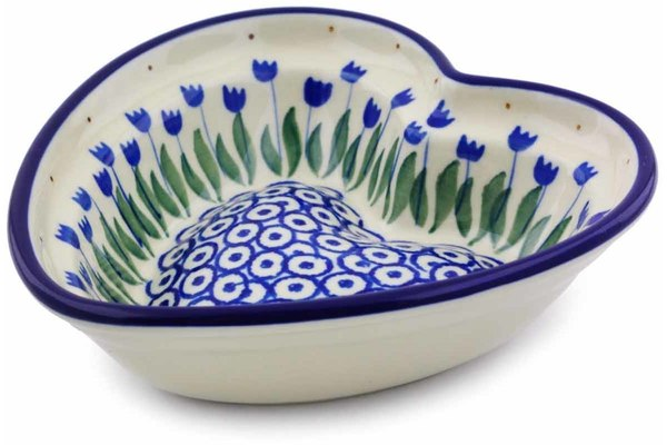 7 oz Heart Bowl - 490AX | Polish Pottery House