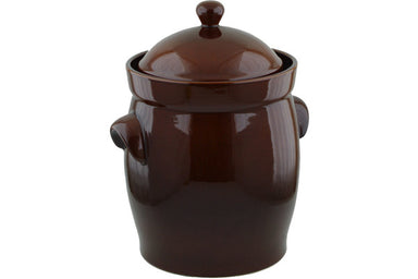 18L Fermenting Crock Pot - BR | Polish Pottery House