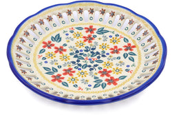 "9"" Round Platter with Holes - P9336A 